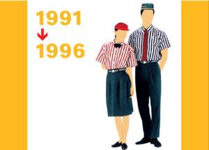 1991~1996んpMacDonaldのユニフォーム画像
