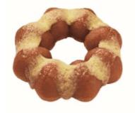 ミスドのさつまいもドの蜜いものバター風味の画像