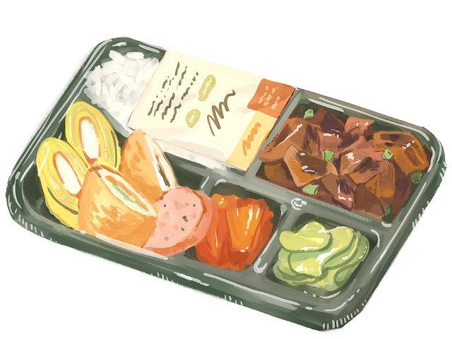 弁当の画像