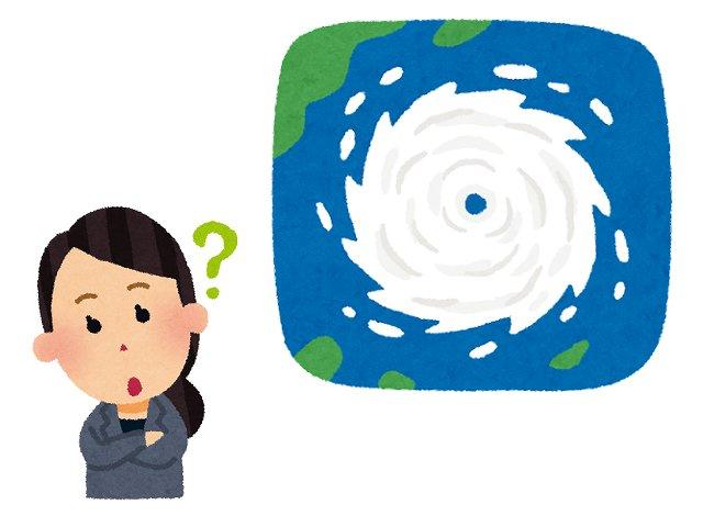 台風にわくわくするのは本能?の画像
